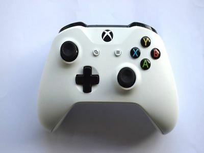 Official Genuine Microsoft Xbox One S Wireless White Controller Pad 3.5mm Port