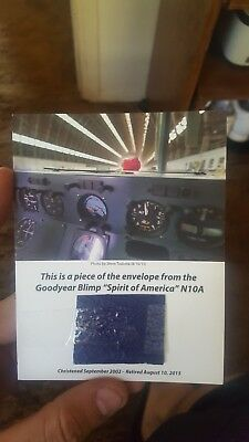 Piece Of The Goodyear Blimp!