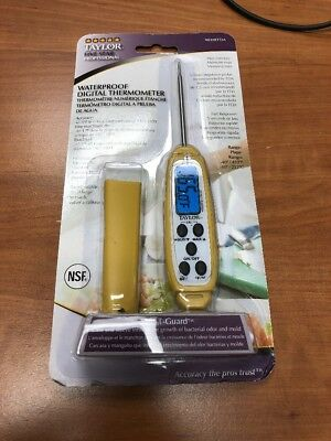 Taylor 9848EFDA 200-400°F Waterproof Instant Read Thermometer
