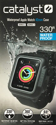 Genuine Catalyst Waterproof Case for 42mm Apple Watch Series 3 (Stealth Black)