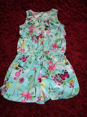 Next Age 4 Bluetit Butterfly Playsuit Ideal Casualparty Summer Cute