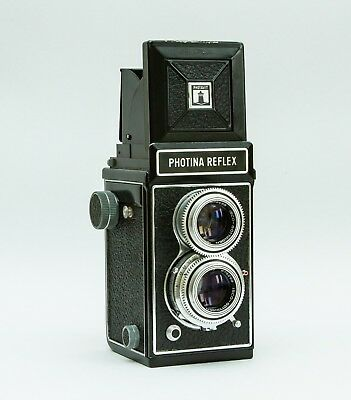 Photina Reflex TLR (120 film, 6x6) camera - great condition, see sample images