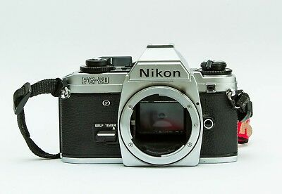 Nikon FG20 SLR camera body (chrome) - excellent condition (see sample images)