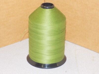 1Lb Milspec Heavy Duty Sewing Thread A&E VT-276H #7 Glace Cotton Olive Drab
