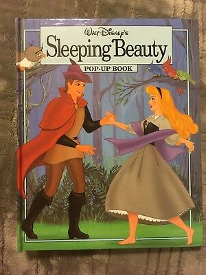 Walt Disney's Sleeping Beauty Pop-Up Book EUC 1993