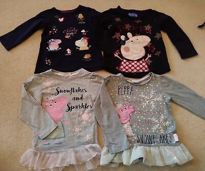 Girls Peppa Pig Clothes bundle autumn winter 3-4 Years