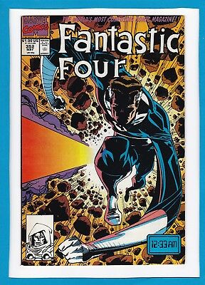 """Fantastic Four #352_May 1991_Very Fine+_""""no Time Like The Present""""!"""