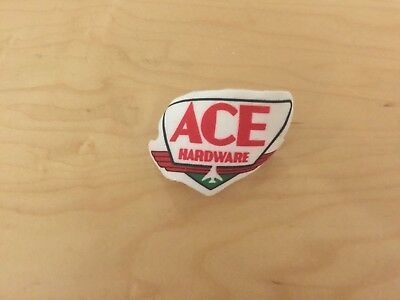 ace hardware patch, iron on, new old stock , 1980's, set of 2