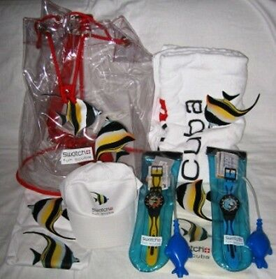Swatch Kit  Launch Fan Scuba Formentera 2003  -  SUGB102 + SUGB101
