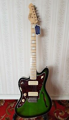 Revelation Left Handed RJT-60M TL Semi Hollow Thin Line Style Electric Guitar