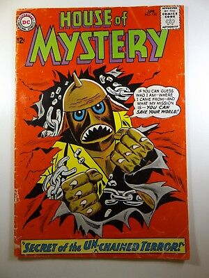 "The House of Mystery #150 ""Secret of The Unchained Terror!"" VG- Condition!!"