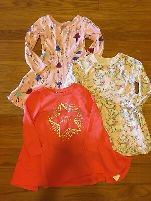 Baby Gap Old Navy Lot Of 3 Toddler Girl Dresses Size 4T, Disney marie Aristocats