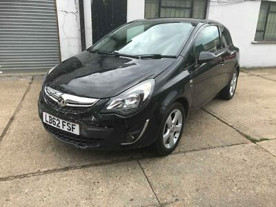 2013 vauxhall corsa 1.4 sxi auto 28000 miles  Salvage, Damaged, Repairable