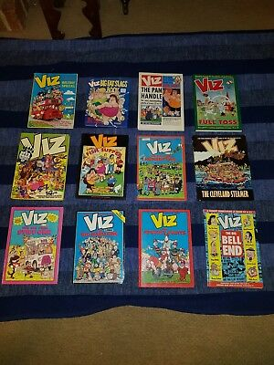 12 x Viz Comics Annuals ORIGINAL & GENUINE