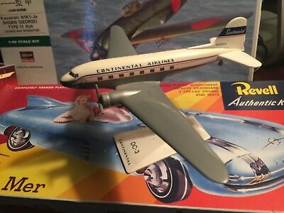 Airline Display Model Dc-3 Continental