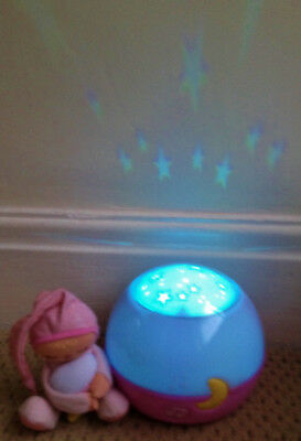 Chicco Baby/Nursery Nightlight Projector Goodnight Stars on Walls with Music