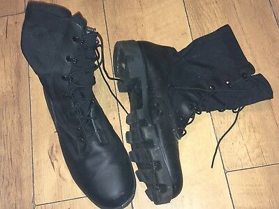 Size 13 Genuine British Army Wellco Us Tropical Hot Weather Patrol Boots
