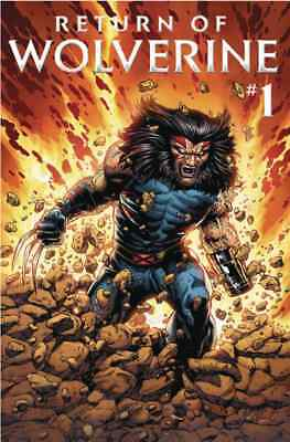 RETURN OF WOLVERINE 1 McNIVEN AGE OF APOCALYPSE COSTUME VARIANT HE'S BACK BUB NM