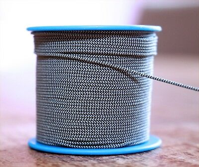 Perfect Dial Cord BRAIDED Nylon String 0.8mm for Vintage Tube Radio Tuner German
