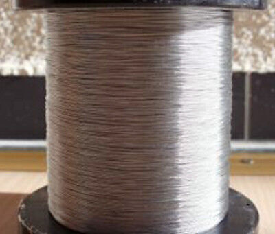 Perfect Steel Dial Cord Braid Wire 0.3mm for Vintage Tube Radio Tuner Germany