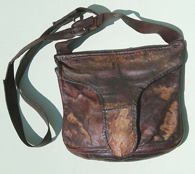 Very nice original rifleman's hunting bag and strap c 1820s-40s.