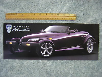 1996 & 1997 Plymouth Prowler 2 Sales Folders NEW
