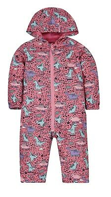 Rare Brand New Mothercare Puddlesuit Sold Out 6-9 BNWT Dinosaur