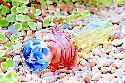 """4.5"""" Lollipop Collectible Tobacco Glass Pipe Smoking Herb Bowl Hand Pipes Gift"""