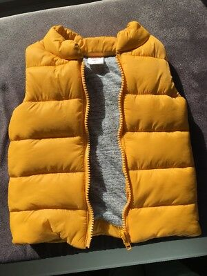 Seed Sz M 6-12 months Padded Puffer Sleeveless Vest Jacket As New