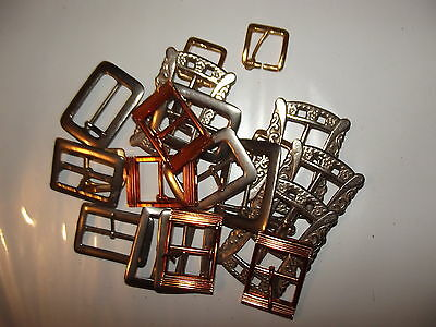 Assorted Bundle of Belt Buckles