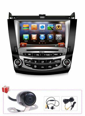 "Koolertron 8"" Autoradio GPS Satnav Headunit DVD Stereo Deck For Honda Accord"