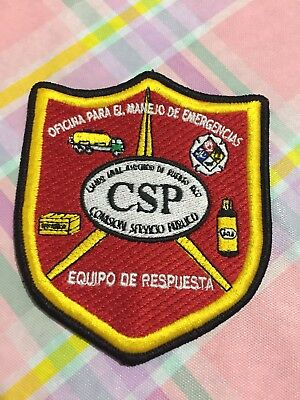 Puerto Rico Police Patch... Emergency Management