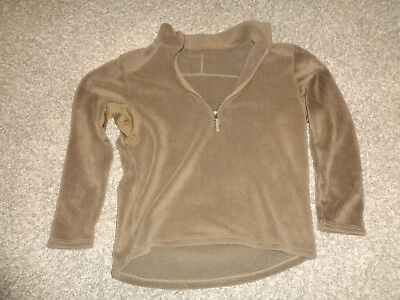 PCU Level 3 L3  Fleece Top Shirt * Coyote Brown * X-LARGE * SOCOM NSW SEAL SF