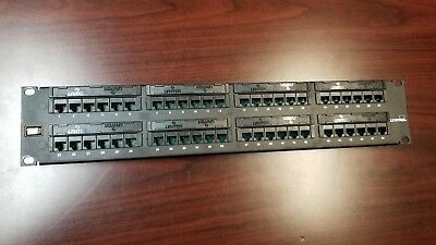 Leviton Gigamax 48 Port Cat 5e Patch Panel