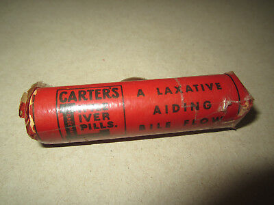Vintage Carter's Little Liver Pills In Original Packaging Good Condition