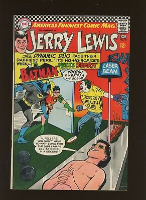 Adventures of Jerry Lewis 97 FN 6.0 *1 Book* 1966,DC! Batman Meets Jerry! Robin!