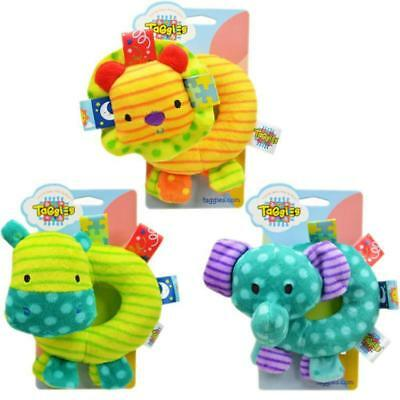 Developmental Baby Musical Rattle Hand Plush Animal Toy Toddler Kids Newborn Fun