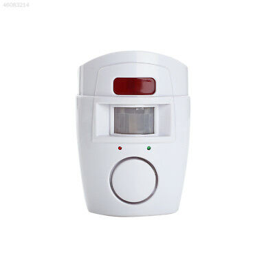 Motion Detector Home Security Motion Sensor Alarm Office 2 Remote Controller