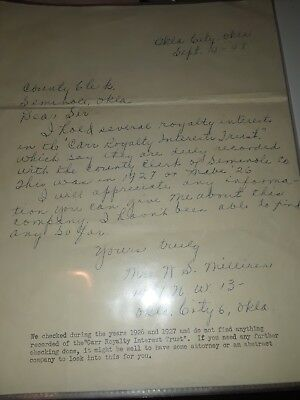 old letter dated 1948