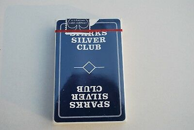 Sparks Silver Club Casino Playing Cards 89431 , New Sealed