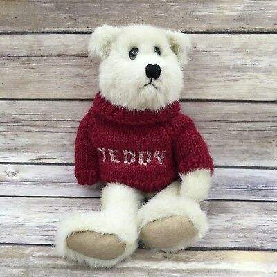 Nwt Boyds Investment Collectibles Butter Bear Handsome With Teddy Sweater