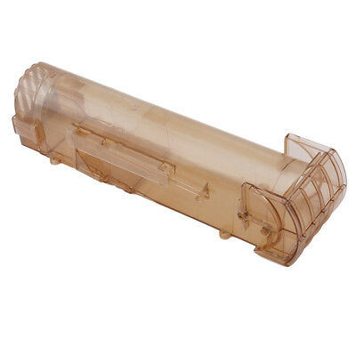 Plastic Squirrel Cage Medial Dark Brown Blower Mouse Pedal Trap Cage Easy LT
