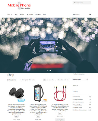 Cell Phones Drop Shipping Website Business For Sale Full Stock Mobile Phones