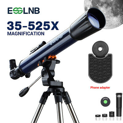 400x70 Astronomical Refractor Telescope with Tripod & Phone Adapater Ultra Clear