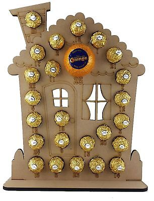 Gingerbread House Advent Fits Terry Chocolate Orange & Ferrero Rocher or Lindt C