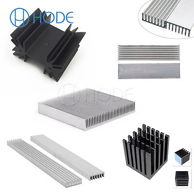 Aluminum Heatsink Cooling Fin Radiator for LED Amplifier Transistor Module UK
