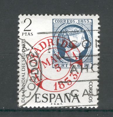 Spain  1973  Stamp Day, used.