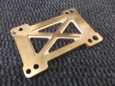 GO KART ENGINE mount spacer plate magnesium x30 rotax max ect 15mm thick