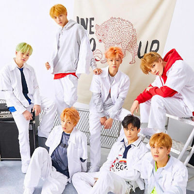 NCT DREAM [WE GO UP] 2nd Mini Album CD+2p POSTER+Photo Book+Card+Sticker SEALED
