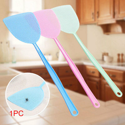 1/3/5pcs Fly Swatter Manual Swat Pest Long Handle Assorted Insect Killer Tool